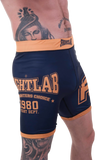 "Muay Thai MMA K1 Fightlab ""Impact"" Vale Tudo Shorts Blue"