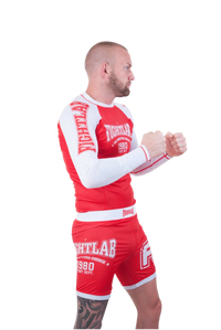 "Fightlab ""Impact"" Rash Guard Red"