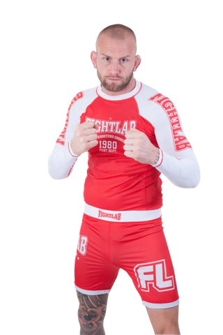 Impact Rash Guard Red