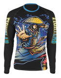 "Muay Thai MMA K1 ""Ninja Warrior"" Rash guard (Rash Guard Only)"