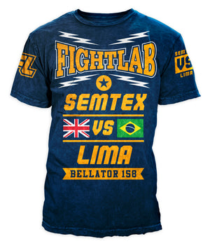 Semtex Belator 158 Lima Vs Daley Official Walk Out T shirt