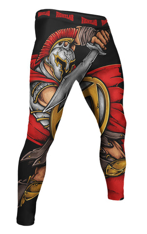 "Muay Thai MMA K1 Fightlab ""Spartan Warrior"" Compression Spats"