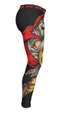 "Muay Thai MMA K1 Fightlab ""Spartan Warrior"" Compression Spats (Spats Only)"