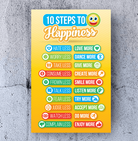 Happiness message Design