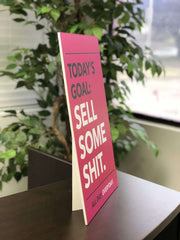 Office Motivational Poster with easel back