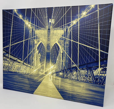 Canvas Wall Art - Brooklyn Bridge