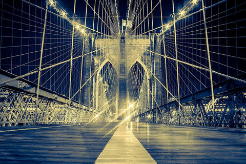 Canvas Wall Art - Beautiful Bridge