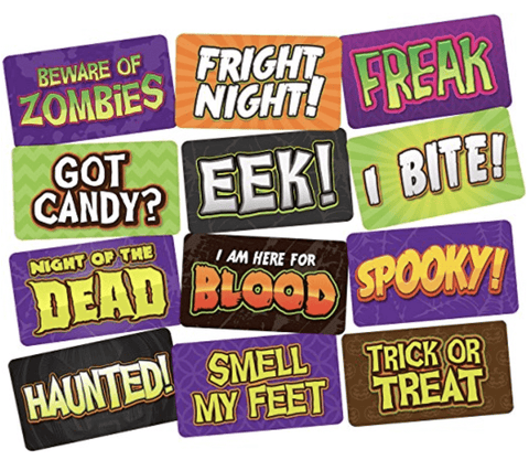 Holloween themed Photobooth Props set