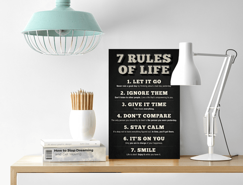 Inspirational Sign for Office Desk