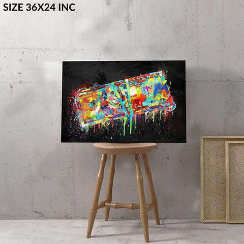 Wall Art Canvas 36x24 measuring