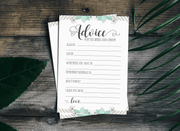 Wedding Advice Cards | King Props