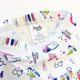 Chemistry science STEM leggings for toddler girls by Smarty Girl