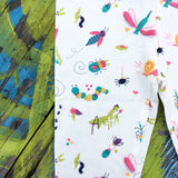 Insect bugs leggings for toddler girls by Smarty Girl