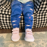 Girls narwhal leggings narwhals clothing whale ocean sea Smarty Girl toddler kids clothes whales pants aquarium science octopus jellyfish underwater baby STEM Arctic pima cotton Peru girly marine biology smart geek scientist nerd pink purple shirt tshirt dress kid child children nerdy geeky