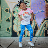 Girls narwhal leggings narwhals clothing whale ocean sea Smarty Girl toddler kids clothes whales pants aquarium science octopus jellyfish underwater baby STEM Arctic pima cotton Peru girly marine biology smart geek scientist nerd pink purple shirt tshirt dress kid child children nerdy geeky  mural wall