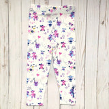 Girls robot leggings robots clothing robotics Smarty Girl code coding programming science STEM clothes pima cotton Peru girly pants engineering technology smart geek nerd pink purple
