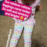 Girls car clothes girl car clothing vehicle leggings vehicles rainbow pants Smarty Girl fire truck engine firetruck trucks motorcycle bicycle bike motorcycles police bus moped science STEM pima cotton Peru girly shirt dress tshirt smart geek nerd pink purple