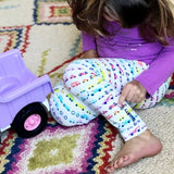 Girls vehicles leggings car clothing cars Smarty Girl fire truck science STEM trucks clothes pima cotton Peru girly pants motorcycle bicycle bike police bus smart geek nerd pink purple