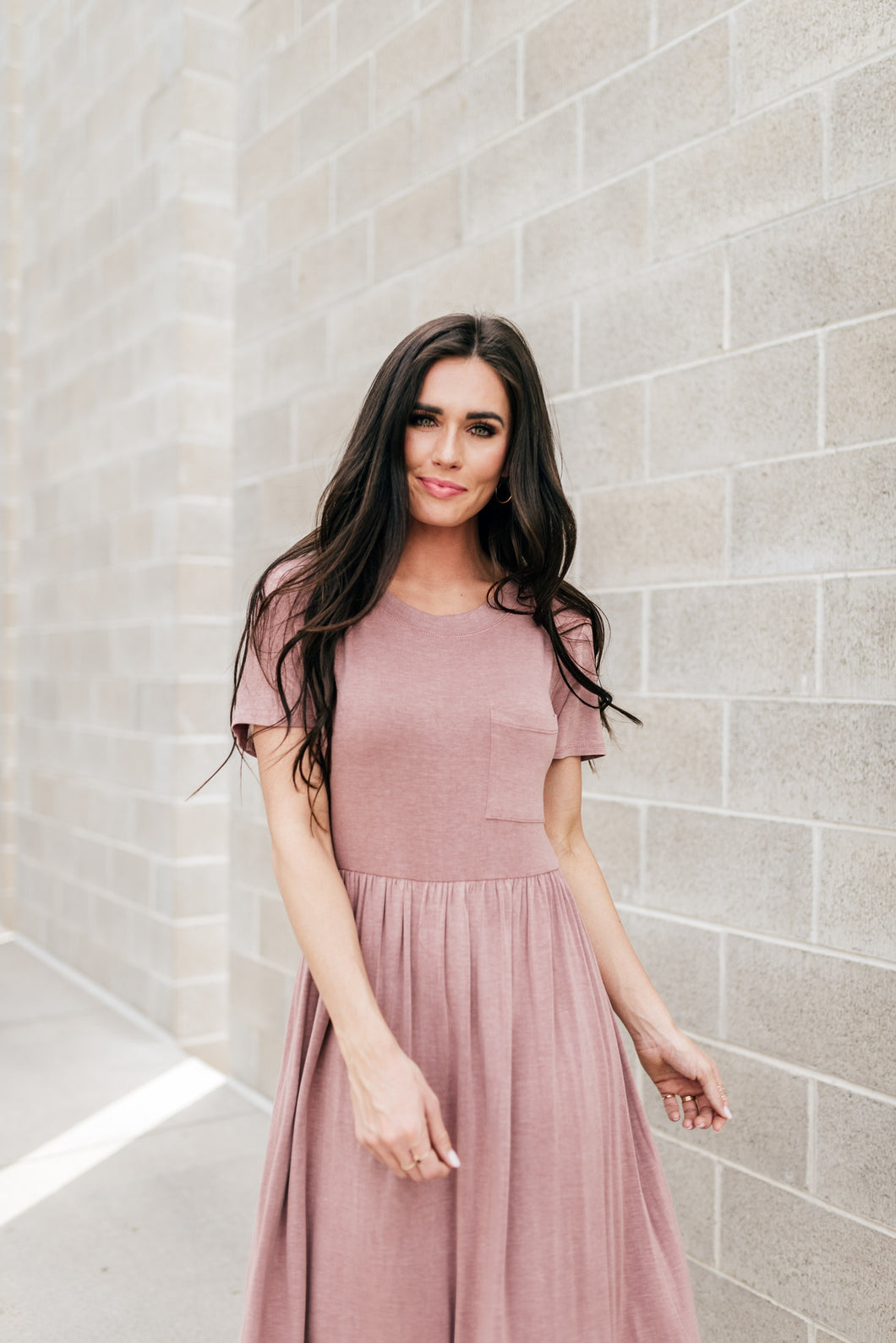 Brighton Mauve Dress
