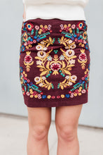 Audra Embroidered Skirt
