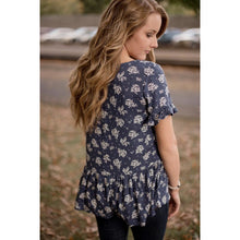 Brooke Floral Top - Westwynd Boutique