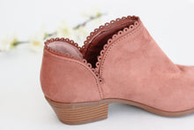 Darla Scallop Booties - Westwynd Boutique