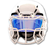 ***USED***  COLOR Football & Lacrosse Eye-Shield Facemask Visor by EliteTek - Fits Youth & Adult Helmets