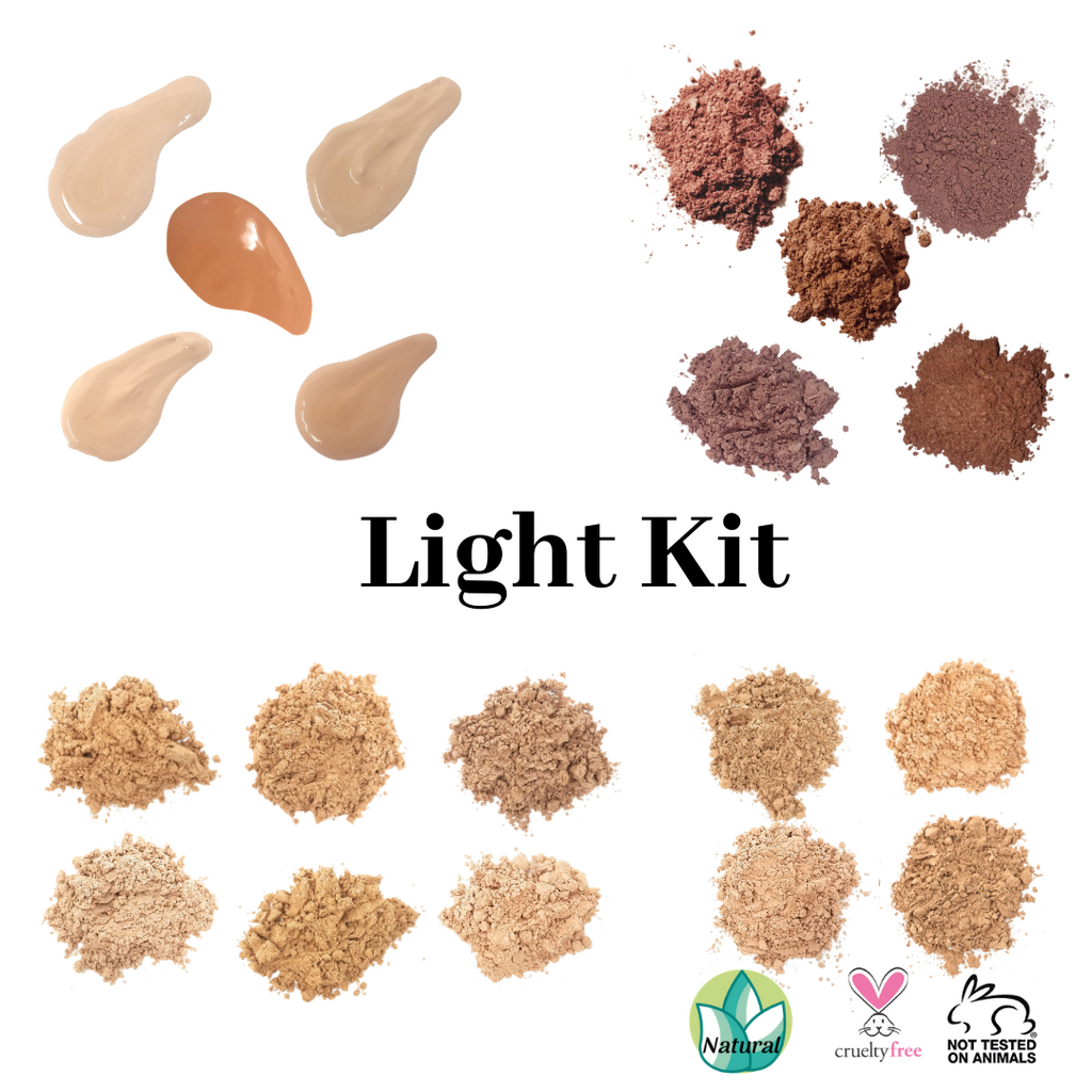 Natural Foundation and Loose Blush Sampler Kit