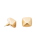 Cupid's Arrow Studs - Goldtone