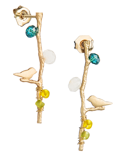 Birds of Paradise Earrings- $5 ea (12 pk)