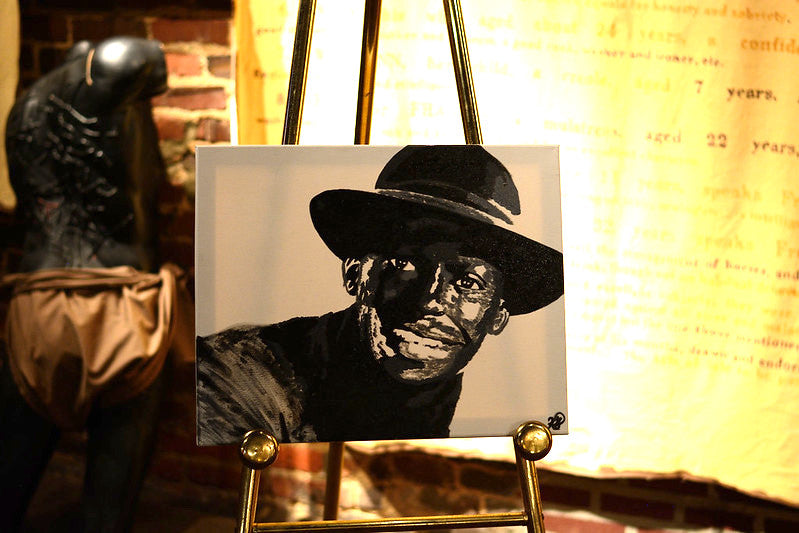 Miles Davis painting- Auction