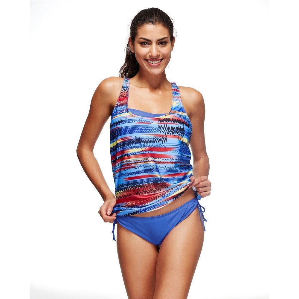 ShopiHub Blue 3 Pieces Set Swimwear