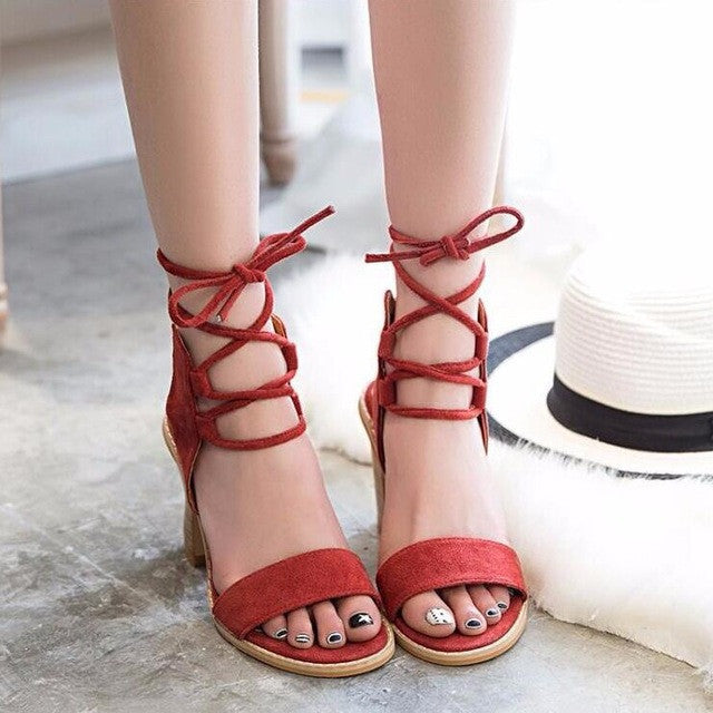 ShopiHub Red / 4 Elegant Women Pumps