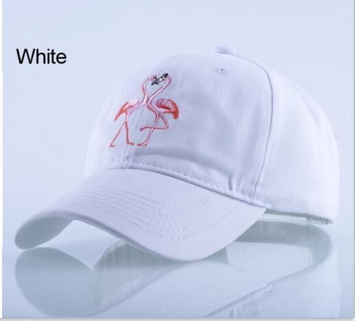 ShopiHub White Flamingo Caps