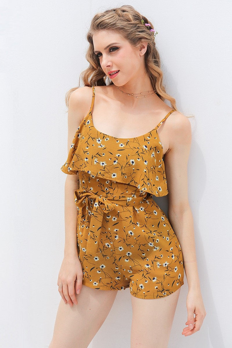 ShopiHub Yellow / S Women Blackless Jumpsuit