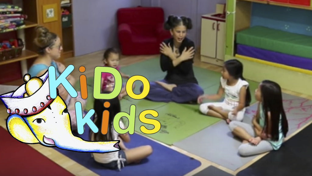 KiDo Kids Zing blends kid's yoga with Young Living essential oils