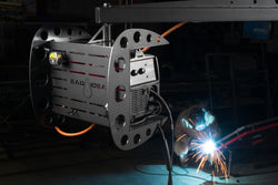 Swing Arc Welder Boom - Bad Idea Supply Co.