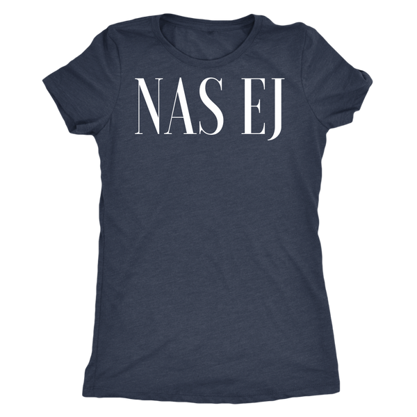 Nas Ej Ladies Triblend T