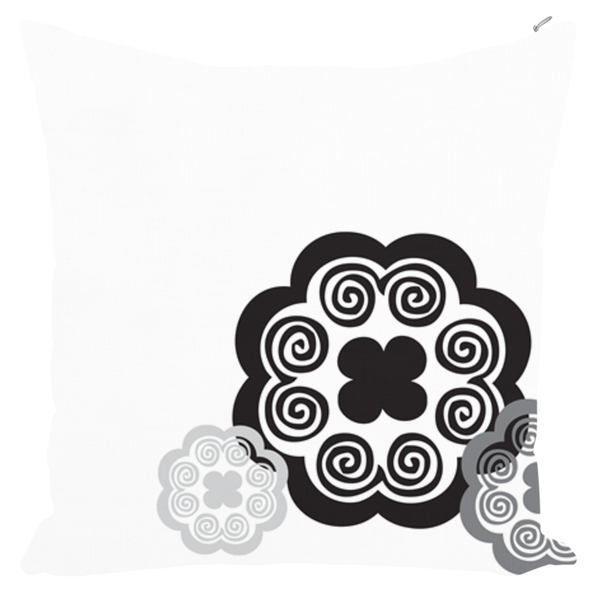 Elephant Foot Throw Pillows