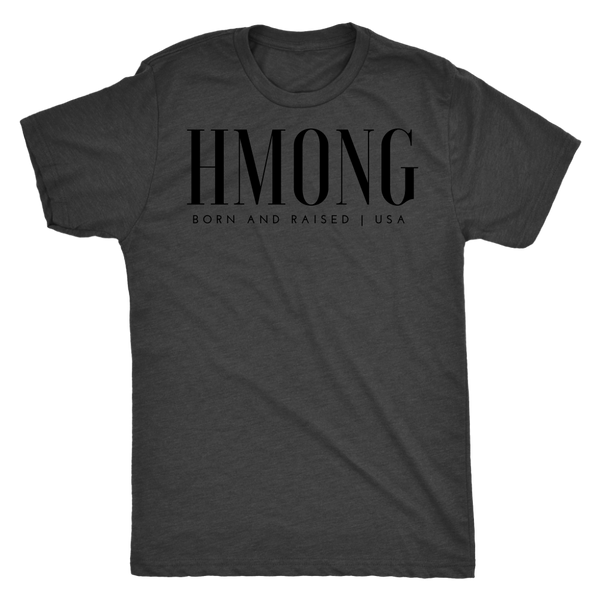 Hmong USA Triblend Men's T