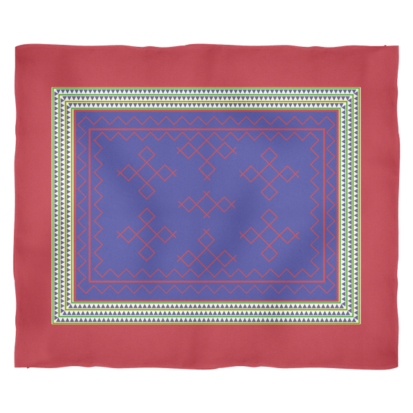 Hmong Fleece Blanket