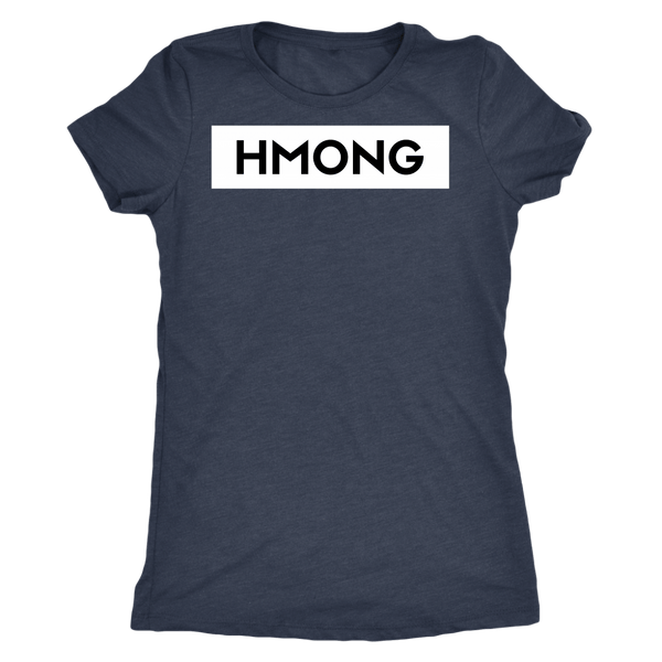 Hmong Ladies Triblend T