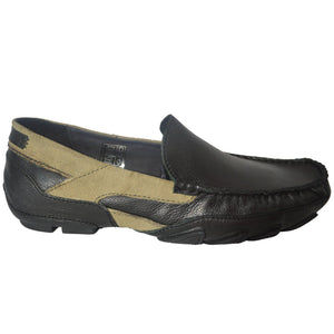 Mens Casual GUCINARI 100% Leather Moccasins Loafers Shoes
