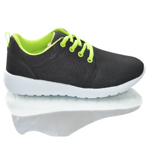 Boys Mesh Lightwieght Running Shoes Plimsolls Trainers Sneaker