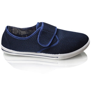 Mens Canvas  Casual Comfort  Soft Trainers Shoes