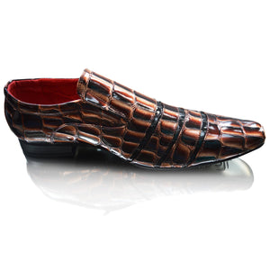 Mens Crocs Patent Formal Party Dress Slip on Shoes