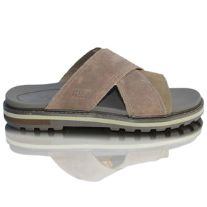 CAT Mens Mules Wide Fit Comfort Flip Flop Sandals