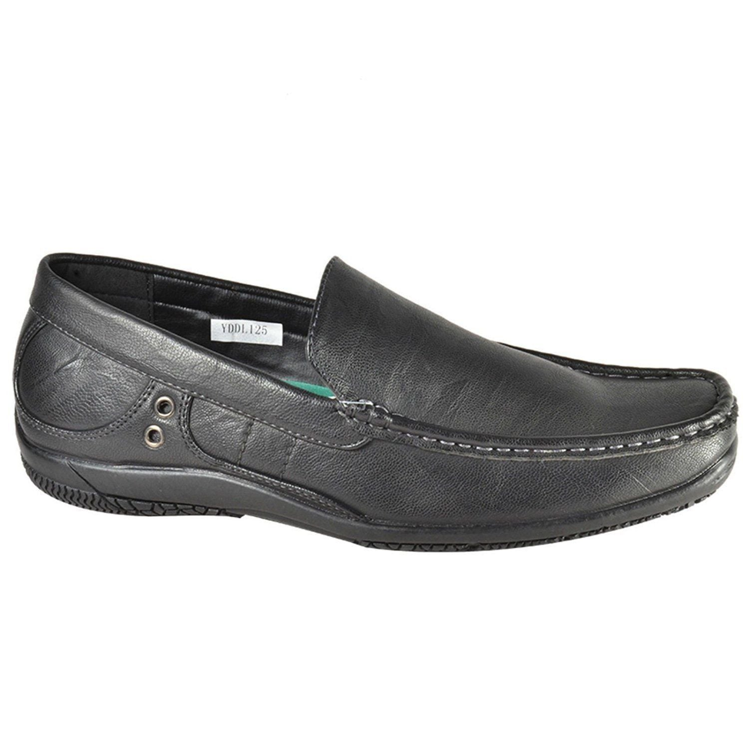 Mens Italian Casual Leather Moccasins