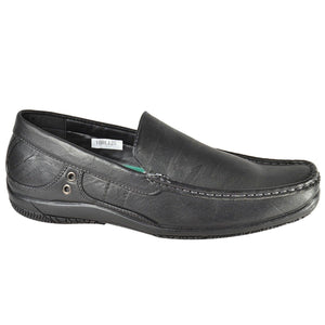 Mens Italian Casual Leather Moccasins Driving Shoes