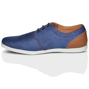 Mens Xelay Casual Flat Trainers Shoes